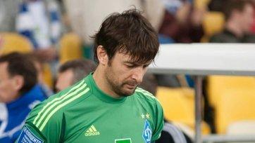 Шовковский не поможет «Динамо» в матче с «Волынью»