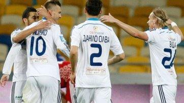 «Динамо» Киев разгромило «Волынь»