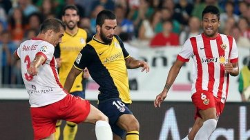«Атлетико» с минимальным счетом одолел «Альмерию»