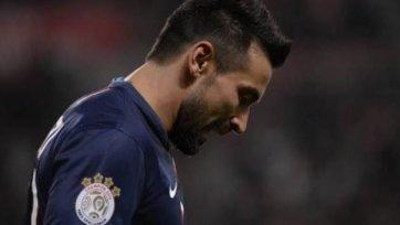 Лавесси получил травму бедра и не сыграет с «Барселоной»