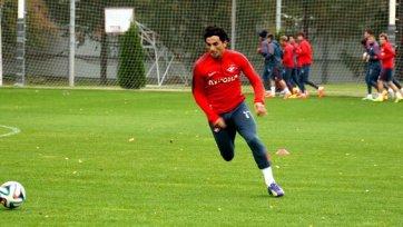 Тино Коста вернулся в общую группу и сыграет против «Зенита»