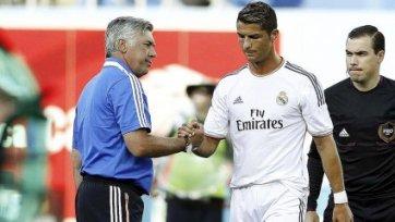 Анчелотти: «Повезло, что Роналду играет у нас, он, несомненно, лучший игрок в мире»