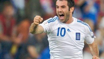 Карагунис будет работать помощником Раньери в сборной Греции