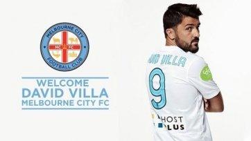 Официально. Давид Вилья представлен в качестве игрока «Мельбурн Сити»