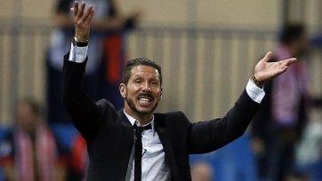 Симеоне: «Атлетико» очень грамотно сыграл тактически»