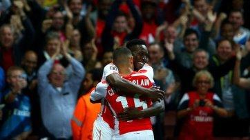 Окслейд-Чемберлен: «Болельщики наслаждались игрой «Арсенала»