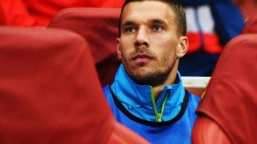 Лукас Подольски может покинуть «Арсенал»