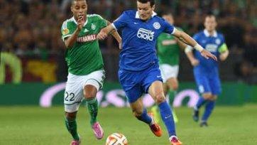 «Днепр» упустил шанс обыграть «Сент -Этьен», «Интер» одолел «Карабах»