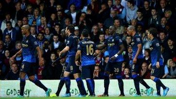 «Манчестер Сити» дожал «Астон Виллу»