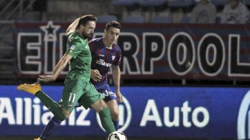 «Эйбар» играет вничью с «Леванте» и временно попадает в зону Лиги Европы