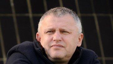 Суркис: «Ребров прекрасно выполняет свою работу и строит команду»