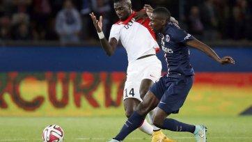 «Монако» ушел от поражения в матче с ПСЖ
