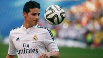 Хамес Родригес: «Хочу войти в историю «Реала»