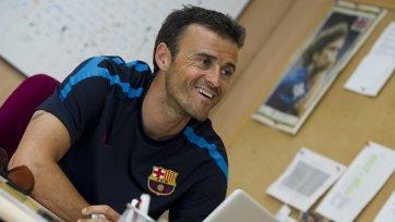 Луис Энрике – лучший тренер Примеры в сентябре