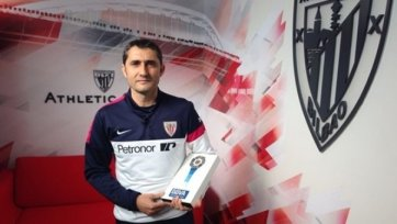 Вальверде – лучший тренер Испании в прошлом сезоне