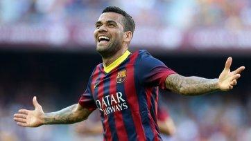 Дани Алвес хочет завершить карьеру в «Барселоне»