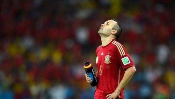 Андрес Иньеста: «Мы проиграли, и результат уже не изменить»
