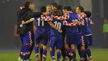 Хорваты минимально одолели Болгарию