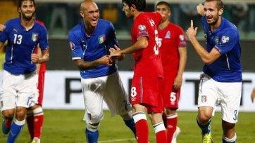 Кьеллини: «Если бы не обыграли Азербайджан, то сочли бы это за провал»