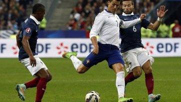 Роналду рискует пропустить игру с датчанами