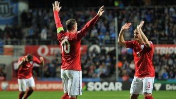 Англия играя в большинстве увезла минимальную победу из Эстонии