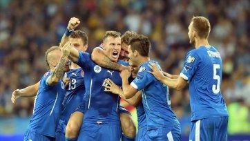 Словакия продолжает победное шествие