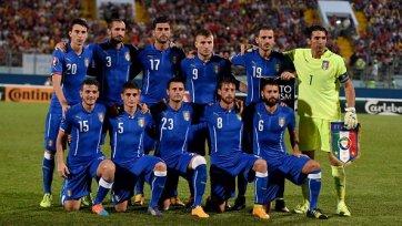 Пелле приносит победу Италии над Мальтой