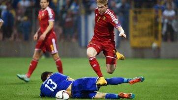 Босния с Бельгией расписали мировую