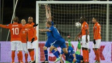 Исландия сотворила сенсацию в матче с Нидерландами