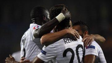 Французы уверенно обыграли Армению