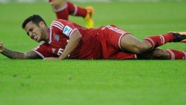 Кошмар для «Баварии» продолжается. Тиаго Алькантара порвал связки колена