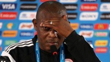 Сборная Нигерии осталась без главного тренера