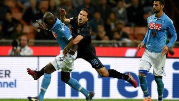 «Интер» в валидольном матче вырвал ничью у «Наполи»