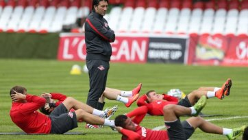 «Спартак» провел тренировку в составе трех футболистов?