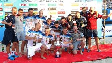 Российские футболисты пляжники сыграют против Бразилии