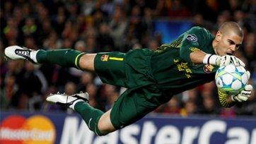 Виктор Вальдес может оказаться в «Манчестер Юнайтед»