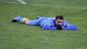 Александр Гацкан может сыграть против «Амкара»