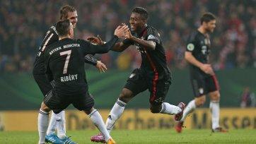 «Бавария» бьет «Гамбург» в Кубке Германии