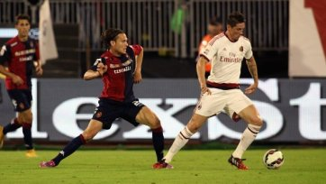 «Кальяри» и «Милан» победителя не выявили
