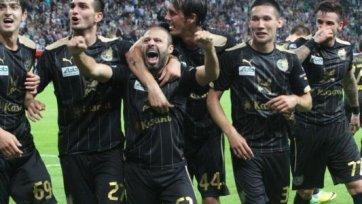«Рубин» в драматичном 120-ти минутном матче обыграл «Спартак»