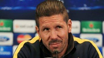 Симеоне: «Пока «Атлетико» не демонстрирует своего максимума»