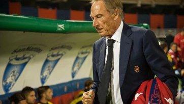 Земан: «В матче с «Лацио» нужно сыграть так, как играли с «Миланом»
