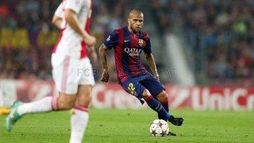 Алвес: «Барселона» справится со всеми трудностями»