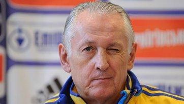 Фоменко огласил состав на предстоящие матчи