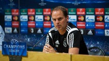 Де Бур: «Надеюсь, моя команда не испугается «Барселону»