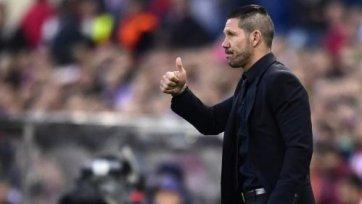 Симеоне: «Атлетико» провел блестящую игру»