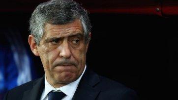 Сантуш огласил заявку сборной Португалии на грядущие поединки