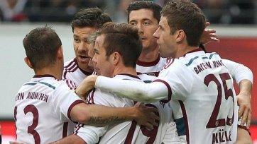 «Бавария» не испытала проблем с «Айнтрахтом»