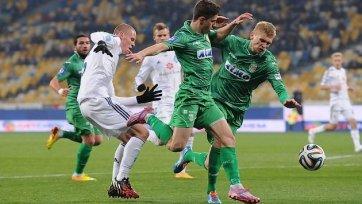 «Динамо» упустило шанс оторваться от преследователей