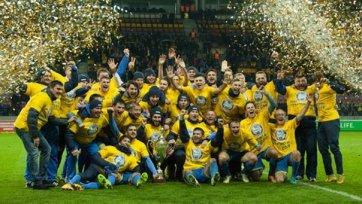 БАТЭ снова стал чемпионом Беларуси